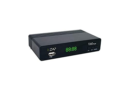 i-ZAP Decoder Digitale Terrestre HD T365 PLAY DVB T2 10 Bit
