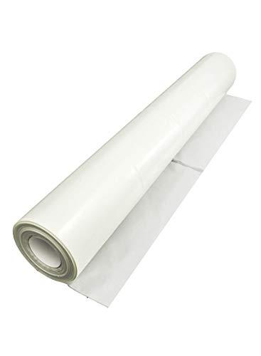Baufolie transparent 100 µ 4 x 25 m = 100 m² baufolie folie schutzfolie Abdeckfolie Plane Abdeckplane