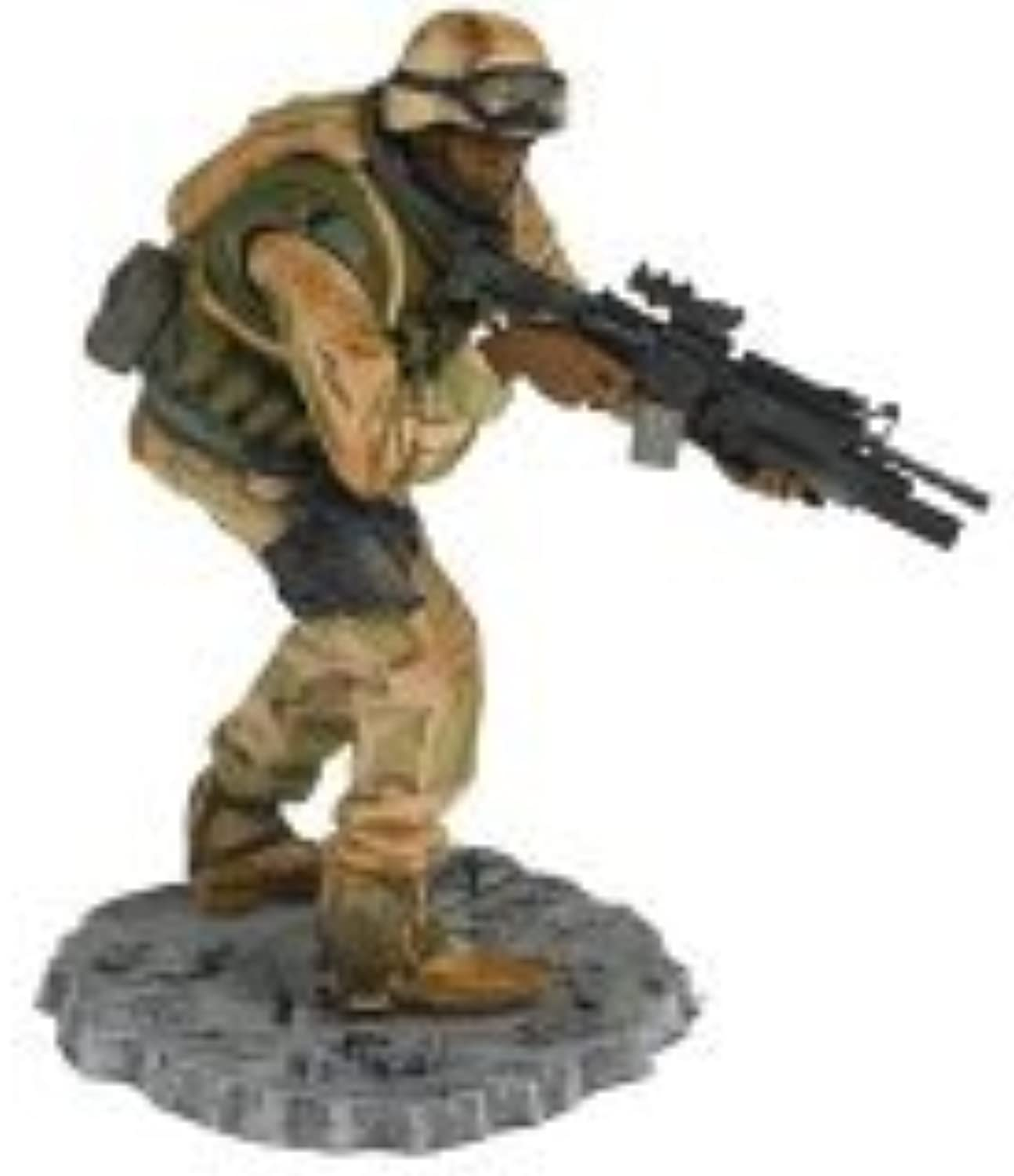 T M P Intl McFarlane's Soldiers 2nd Tour of Duty Army Desert Infantry Grenadier AfricanAmerican