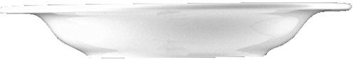BAUSCHER Teller, DIALOG, Porzellan, tief, rund, Ø: 23,4 cm, weiß (6 Stück), Sie erhalten 1 Packung á 6 Stück