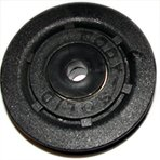 """Body-Solid 75 mm Diameter Pulley (with 3/8"""" Centre Hole)"""