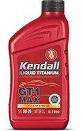 Kendall GT-1 Max 5w-30 with Liquid Titanium - 12/1 qt. Case