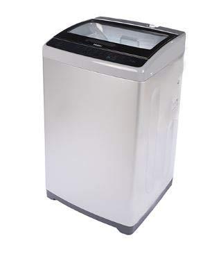 Haier 6.2 kg Fully-Automatic Top Loading Washing Machine (HWM62-707E, Silver Grey)