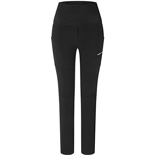 super.natural Pantaloncini MTB Unstoppable Donna, Jet Black, L
