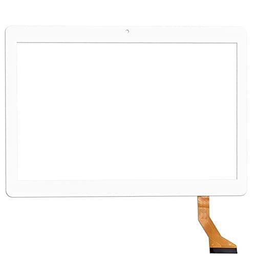 Schermo di ricambio Phablet Panel per tablet GOODTEL G3 da 10,1 pollici esterno capacitivo Touch Screen Digitizer Sensore di ricambio Multitouch (colore : 2.5D bianco)