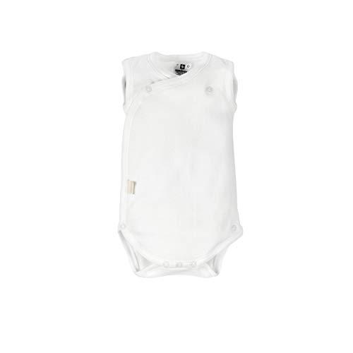 Cambrass 9073 - Body deportivo para recién nacidos, talla 56 cm, color blanco