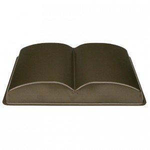 Buch-Backform, beschichtet, 37x26 cm