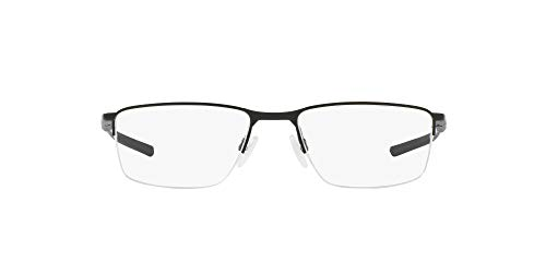 Óculos de Grau Oakley Socket 5.5 OX3218 04 Preto Acetinado Lente Tam 54