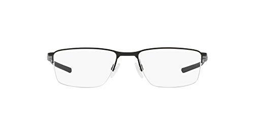 Oakley 3218, Monturas de Gafas para Hombre, Negro (Satin Black), 52