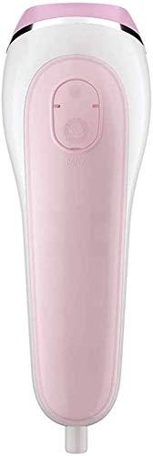 Roestvrijstalen handkleding, verticaal en horizontaal garment steamer, geen strijkplank nodig, 80 liter, 650 W (kleur: roze)
