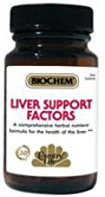 COUNTRY LIFE VITAMINS LIVER SUPPORT FACTORS, 100 TAB