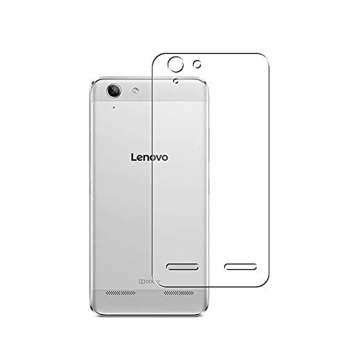 Vaxson 2 Stück Rückseite Schutzfolie, kompatibel mit Lenovo Lemon 3, Backcover Skin TPU Folie [nicht Panzerglas/nicht Front Bildschirmschutzfolie]