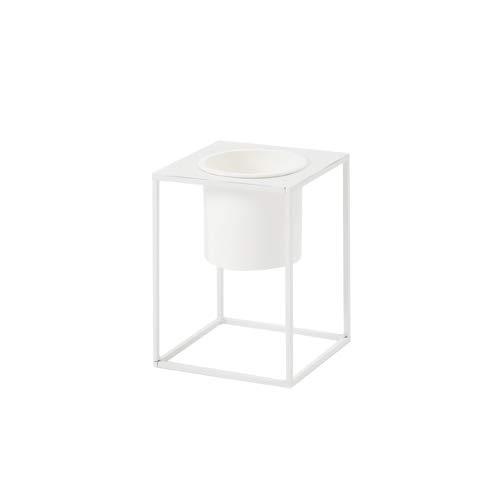 [roomnhome] MONOスタンド植木鉢★Fタイプ★ガーデニング★2色★ (White, S)