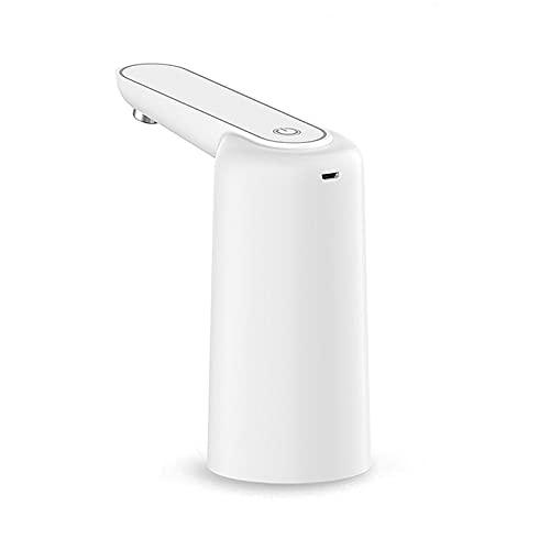 Dispensador de Agua Interruptor táctil automático Bomba de Agua Bomba eléctrica Carga USB Overflow Protección TDS (Color : White)
