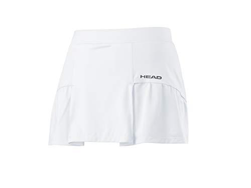 Head Club Basic Skort Falda Deportivas, Mujer, White, XL