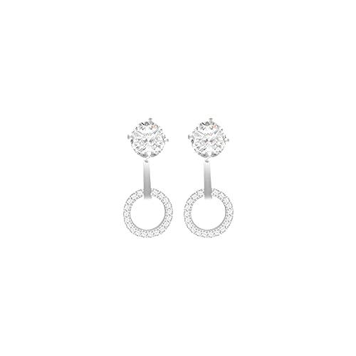 Pendientes de Diamantes de imitación Pendientes de Mujer Pendientes de aro geométricos 2020 Pendientes Accesorios