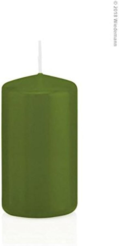 24Bougies Pilier en cellophane 80 40mm (Olive)