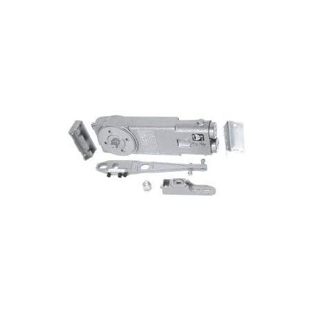 21201S62801 Duty Spring 105 Deg Non Hold-Open Overhead Concealed Closer w// S Offset Slide-Arm Package Almn Jackson Reg