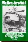 Waffen-Arsenal 172: Laufwerke und Ketten deutscher Kampfpanzer 1935 - 1945 -