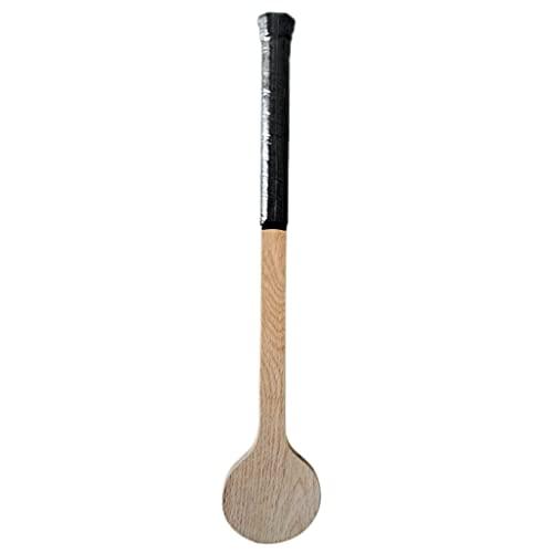KOUJING Puntero de tenis de madera Cuchara de tenis raqueta de madera para practicar y calentar