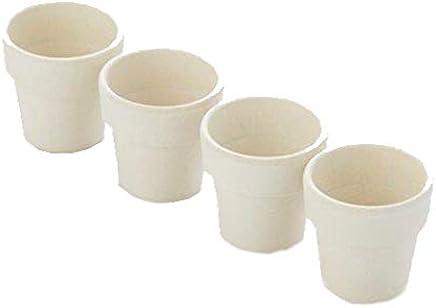 Preisvergleich für ADOMO pv-bam-6094Point-Virgule Eierbecher, Bambus/Kunstfaser, weiß