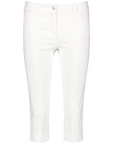 GERRY WEBER Spodnie damskie, biały/biały, 40 PL
