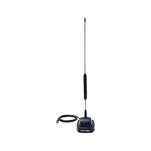 TechniSat Digiflex TT4-NT Aktive Stab-Zimmerantenne (mit eingebautem Verstärker, DVB-T/DVB-T2/DAB+ inkl. Netzteil)
