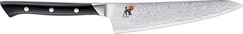 MIYABI 1002043 600 D Shotoh, Japanisches Damast-Messer, 14 cm, CMV60 Stahl