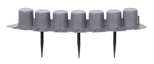 Prosper Plast Ipal7-s443 405 x 6 cm Palisadengarten - Grau (8 Stück)
