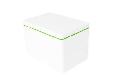 ajaa! Aufbewahrungsbox aus nachhaltigem Biokunststoff - 2,1 Liter - lime