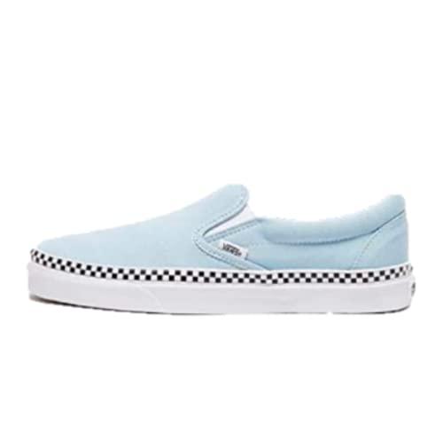 Vans U Classic Slip-ON (Check Foxing) Cool Blue/White VN0A38F7VLS 7.5