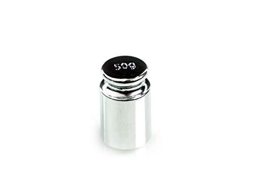 Bullet - 50g gewicht - Kleur: Zilver - 50 gram gewicht steen voor het kalibreren van digitale weegschalen