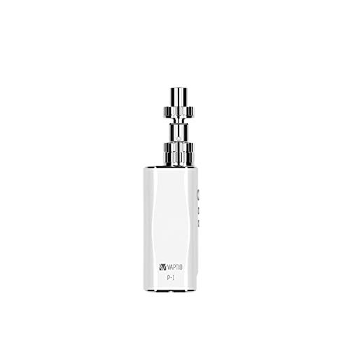 Vaptio P1 KIT 50W 2100 mAh Electronic Cigarettes Nicotine and Tobacco Free 2ML(P1 KIT, weiß)