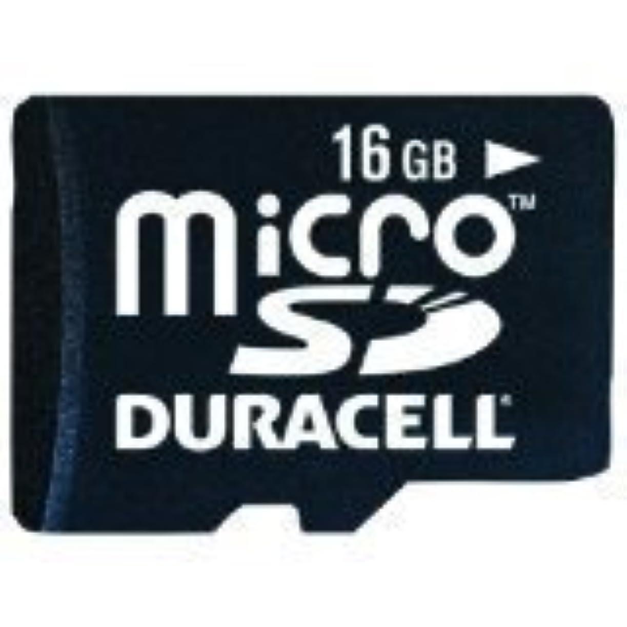 大脳前奏曲舗装Duracell 16 GB Micro Secure Digital Card with Universal Adapter (DEMDU3IN116GC) [並行輸入品]