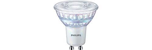 Philips LED WarmGlow GU10 Lampe, 575 Lumen entsprechen 80W, warmweiß (2200 - 2700Kelvin), dimmbar, matt