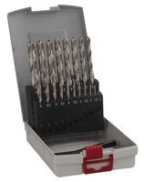 Foto di Bosch Professional 2608587013 ProBox HSS-G Set Punte Metallo, 1 - 10 mm Grigio, 19 Pezzi