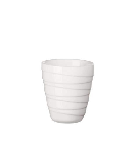 ASA - Thermobecher - Twisted - weiß - Ø8,4 x H9,5 cm - 0,2 Liter - doppelwandig