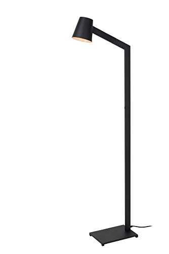 Lucide MIZUKO - Lampadaire - Ø 13 cm - Noir