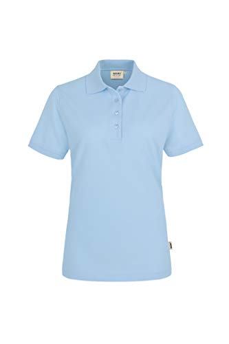 HAKRO Damen Polo-Shirt Performance - 216 - ice blue - Größe: 4XL
