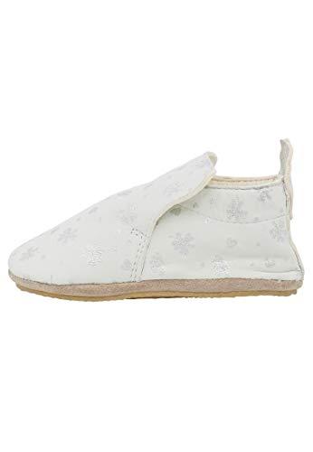 Naturino PLUMARD-- Zapatos de parque de piel de napa estampada, Blanco (blanco), 21 EU