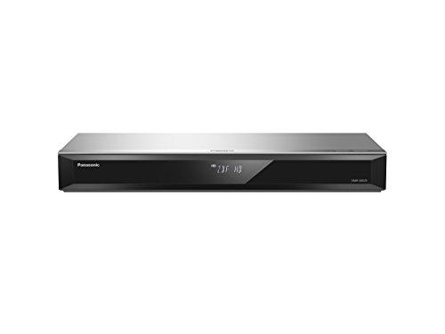 Panasonic DMR-UBS70EGS Ultra HD Blu-ray Recorder (500GB HDD, 4K Blu-ray Disc, 4K VoD, UHD TV Empfang, 2x DVB-S2, silber)