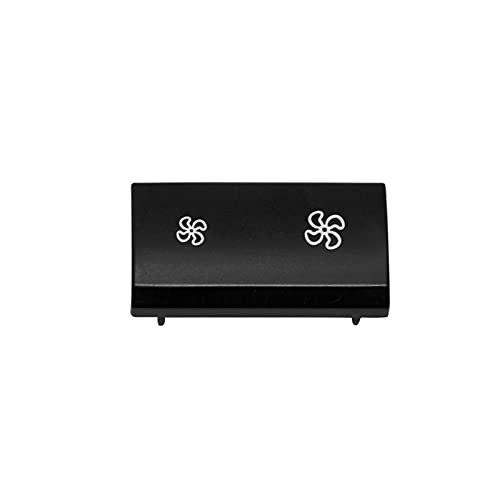 JIS Cubierta DE Control DE Control DE Aire ACONDIENTE Ajuste para BMW X5 X6 E70 E71 07-14 Accesorios Interiores DE Coches Botón del Ventilador del Panel del Clima del Calentador