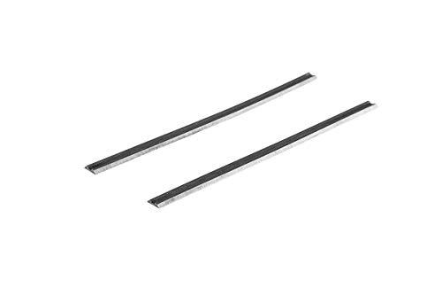 FOXBC 3-1/4' cuchillas cepilladoras para Bosch PA1202, Craftsman, Makita, DeWalt, Ryobi y la mayoría de cepilladoras portátiles (carburo)
