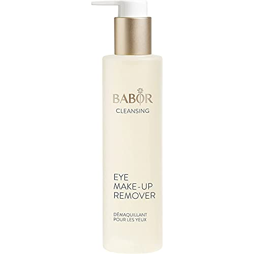 BABOR CLEANSING Eye Make up Remover für jede Haut, Ölfreier Make-up Entferner, Auch für wasserfestes Augen & Lippen Make-up, Vegane Formel, 1 x 100ml