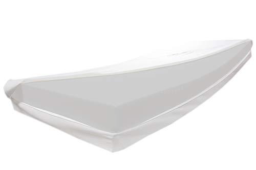 Dibapur 20 cm Höhe ca. Matratze Pro Dolce H2 Mittel/Fest • 7 Zonen Orthopädische Kaltschaummatratze • Aloe Vera glatt Bezug (60 °C) • Zum Einführungspreis • Öko-Tex 100 Zertifiziert (80 x 180 cm)