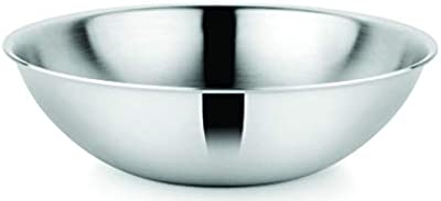 Prabha Stainless Steel Tasla- Silver