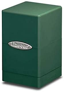 Ultra Pro Green Satin Tower Deck Boxes