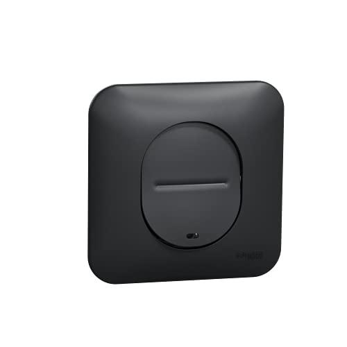 Ovalis – Interruptor simple – Luz de temero o localización – antracita