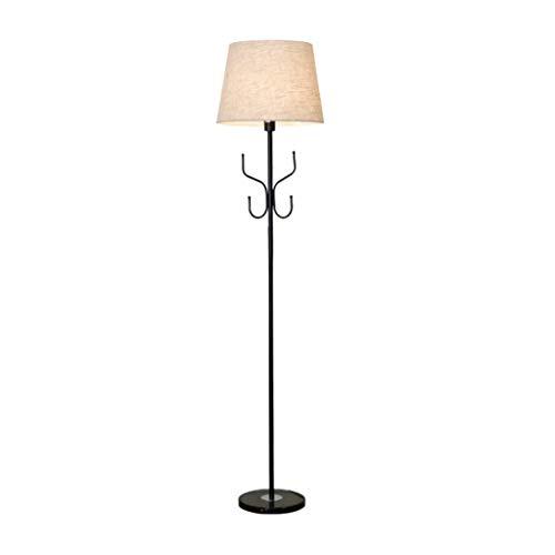 Staande lamp woonkamer staande lamp creatieve mode met kleerhangers slaapkamer persoonlijkheid Nordic tafellamp warm Bedside-vloerlicht staande lamp