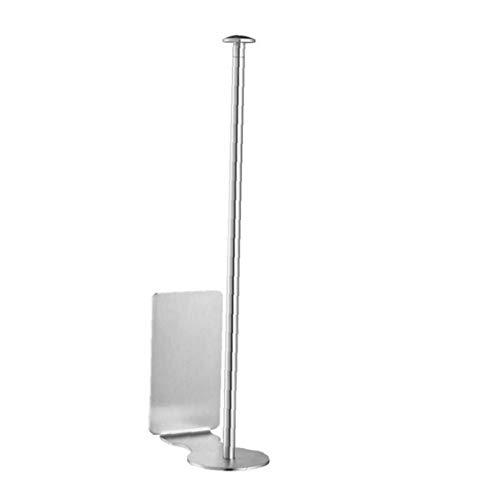 Kitchen Roll Holder Self Adhesive Paper Tissue Dispenser 304 Stainless Steel Rowel Rack,Brushed Finish(285mm)